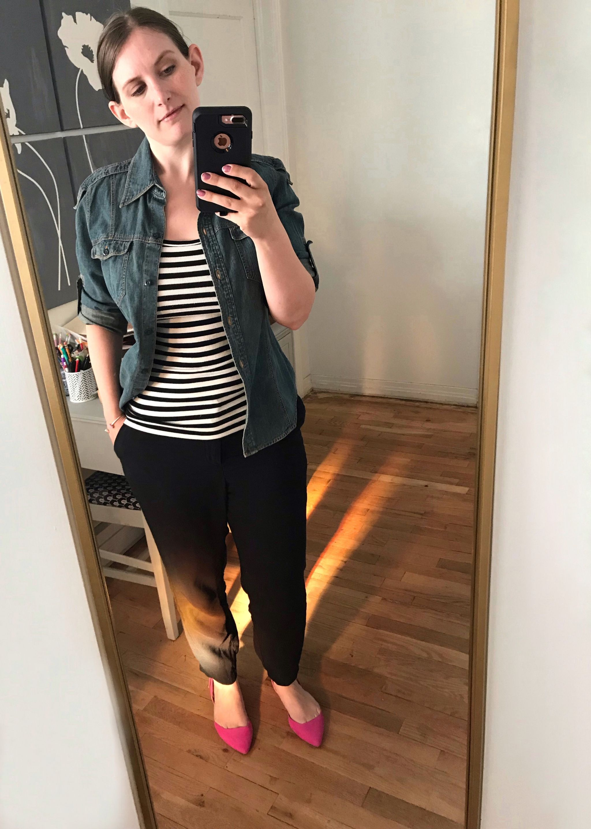 styling a striped tee - JK Style