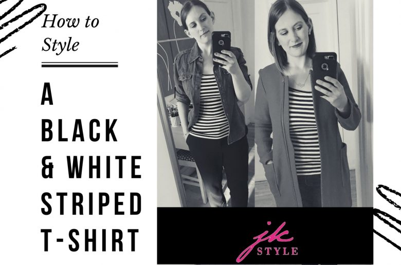 how to style a striped tee- JK Style