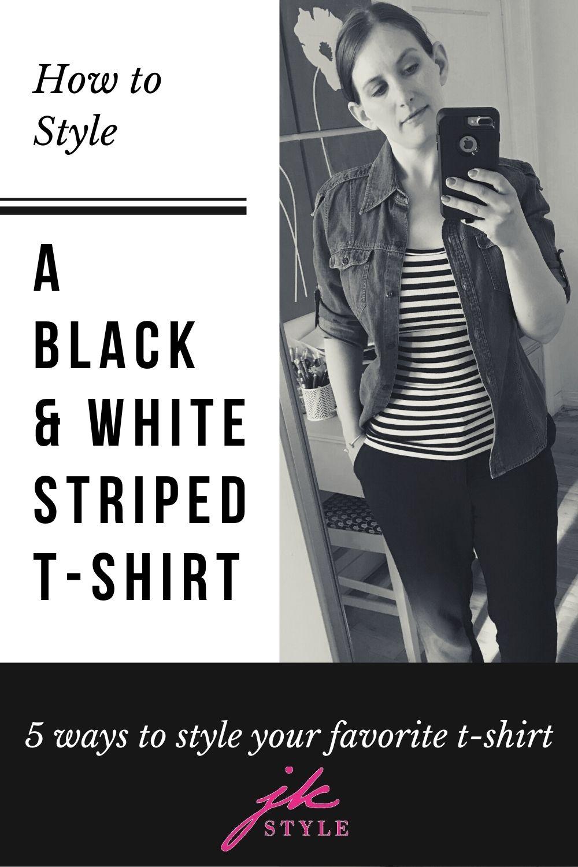 T-Shirt Styling Ideas - JK Style