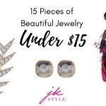 jewelry under 15