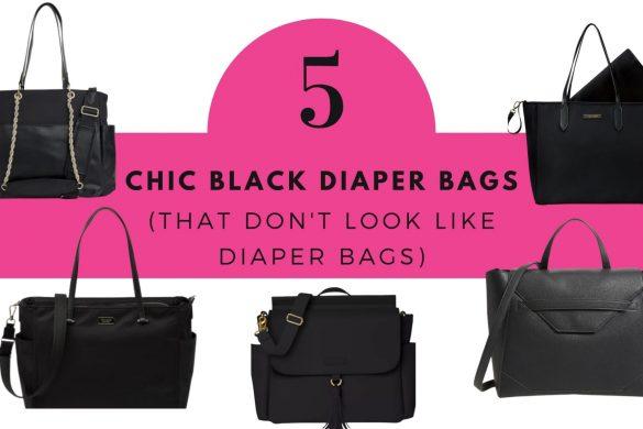 black diaper bags