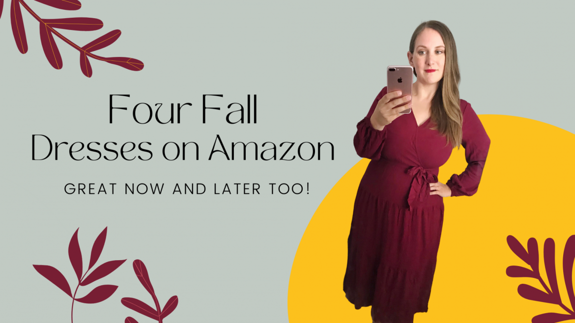 fall dresses from Amazon